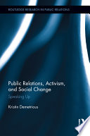 Public Relations  Activism  and Social Change