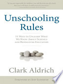 Unschooling Rules