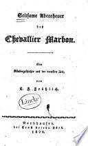 Seltsame Abentheuer des Chevallier Marbon