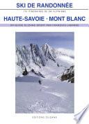 illustration Ski de randonnée Haute-Savoie • Mont Blanc