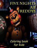 Coloring Book for Kids Five Nights at Freddys