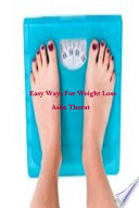 Easy Ways For Weight Loss
