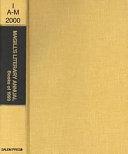 Magill S Literary Annual 2000 book