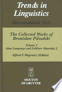 Materials for the Study of the Ainu Language and Folklore 2
