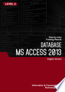 MS ACCESS 2013 LEVEL 2