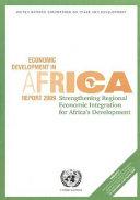 Economic Development in Africa Report 2009
