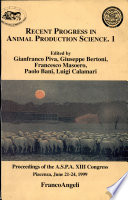 Recent progress in animal production science