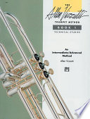 The Allen Vizzutti Trumpet Method   Book 1  Technical Studies