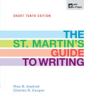 The St  Martin s Guide to Writing Short