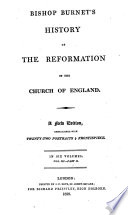 Bishop Burnet's History of the reformation of the Church of England