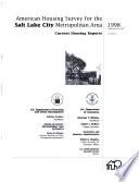 Salt Lake City Metropolitan Area  1998
