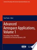 Advanced Aerospace Applications Volume 1