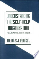 Understanding The Self Help Organization book