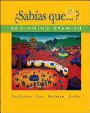 Sab  as que      Beginning Spanish