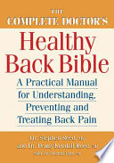 The Complete Doctor s Healthy Back Bible