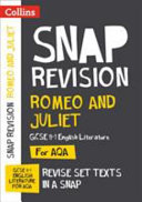 Romeo and Juliet  AQA GCSE English Literature