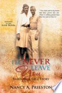 I'll Never Leave You Pdf/ePub eBook