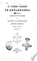Le metamorfosi P  Ovidio Nasone
