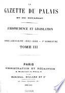 La Gazette du Palais et du notariat