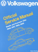 Volkswagen Beetle  Karmann Ghia Official Service Manual  Type 1