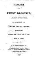 download ebook memoirs of henry obookiah, a native of owhyhee, etc. [by l. beecher and j. harvey?] pdf epub