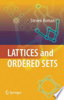 Lattices and Ordered Sets