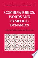 Combinatorics  Words and Symbolic Dynamics