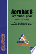 Acrobat 8  version pro  pour PC Mac