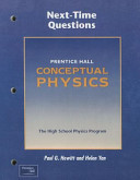 Conceptual Physics 3e Next Time Questions 2002c