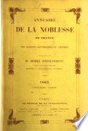 Annuaire de la noblesse de France et des maisons souveraines de l Europe