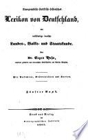 Topographisch-statistisch-historisches Lexikon von Deutschland