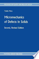 Micromechanics of Defects in Solids