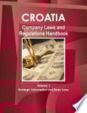 Croatia Company Laws and Regulations Handbook