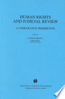 Human Rights and Judicial Review