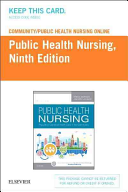 Community Public Health Nursing Online for Stanhope and Lancaster