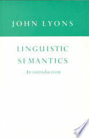 Linguistic Semantics
