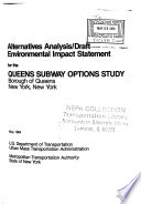 Queens Subway Options Study  New York