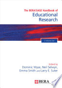 The BERA SAGE Handbook of Educational Research