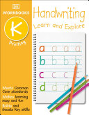DK Workbooks  Handwriting  Printing  Kindergarten