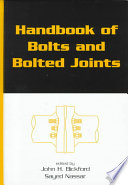 Handbook Of Bolts And Bolted Joints