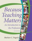 download ebook because teaching matters, 2nd edition pdf epub