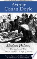 download ebook sherlock holmes: das zeichen der vier / sherlock holmes: the sign of the four - zweisprachige ausgabe (deutsch-englisch) / bilingual edition (german-english) pdf epub
