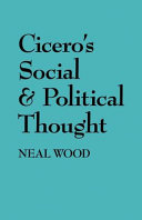 Cicero's Social and Political Thought