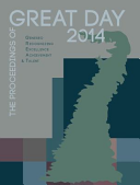 The Proceedings of GREAT Day 2014