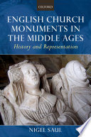 English Church Monuments in the Middle Ages