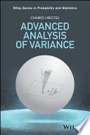 Advanced Analysis of Variance