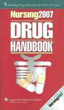 Nursing 2007 Drug Handbook