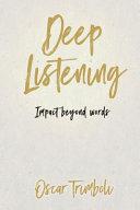 Deep Listening Book PDF