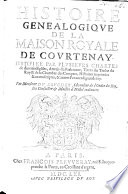 Mémoire presenté au roy par monsieur le Prince de Courtenay, en suite de sa Protestation. Le 13 fevrier 1662. [Followed by a pedigree.]