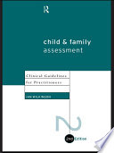 Child and Family Assessment Extensive Experience Of Working With Troubled Children